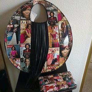 Michelle Obama magazine inspired bag
